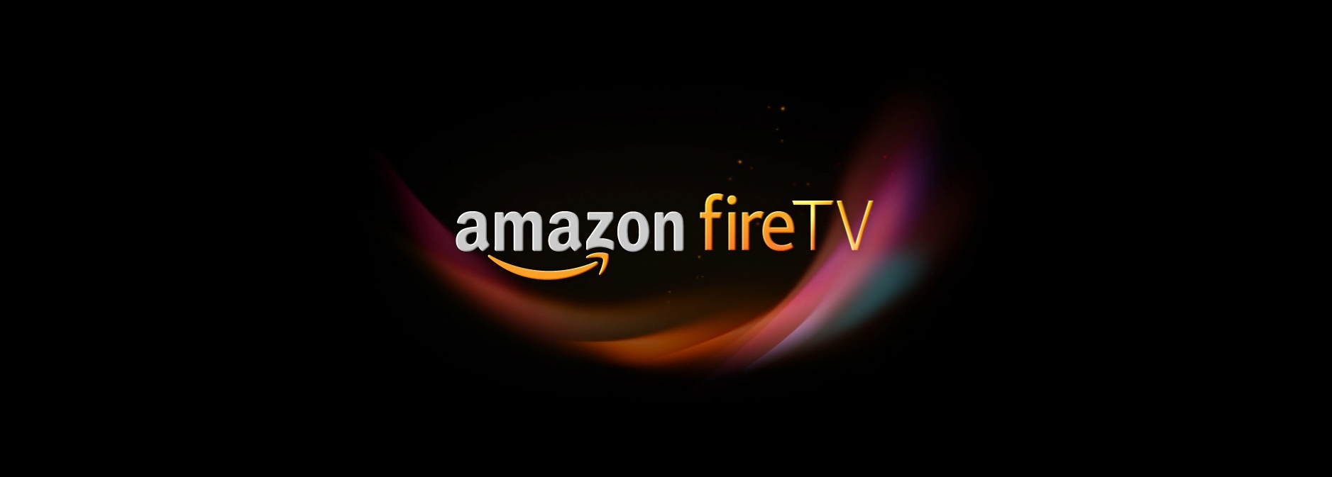 Logo beim Start des Amazon Fire TV