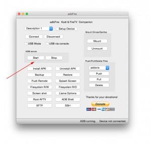 adbFire adb sserver restart