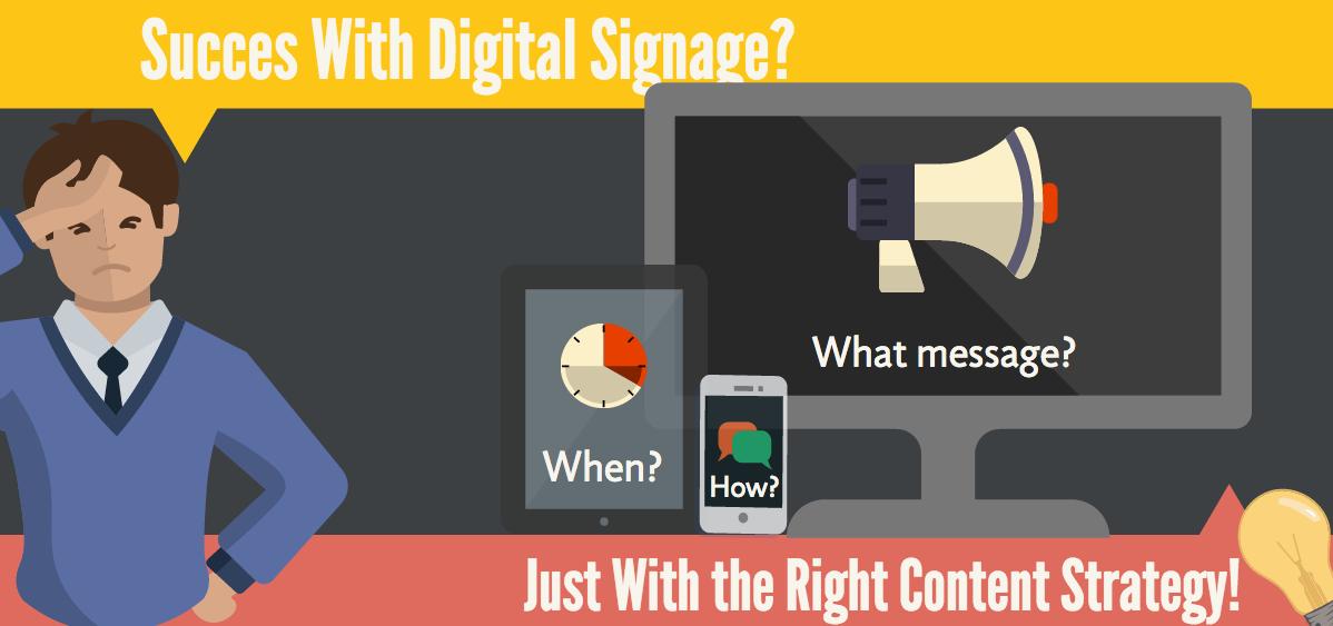 Digital Signage: Die richtige Content Strategie (1)