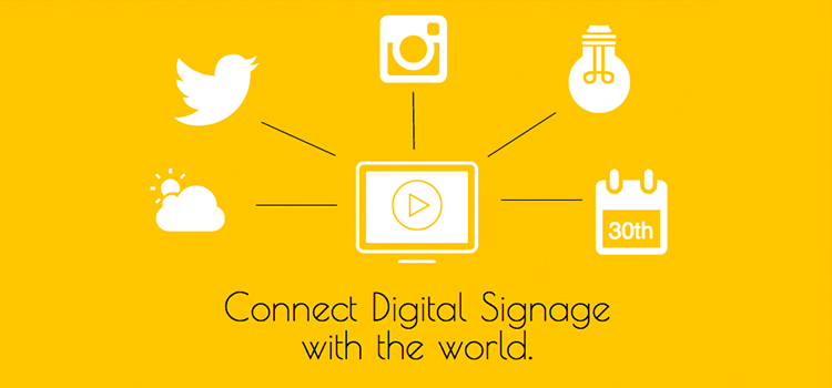 Event-Driven Content mit Digital Signage & IoT