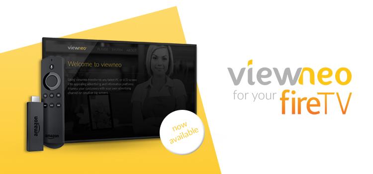 viewneo App für Amazon Fire TV