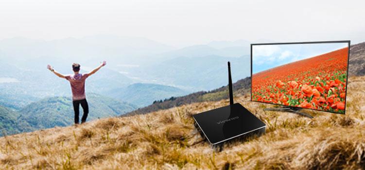Der neue Player, die viewneo 4K SignageBox