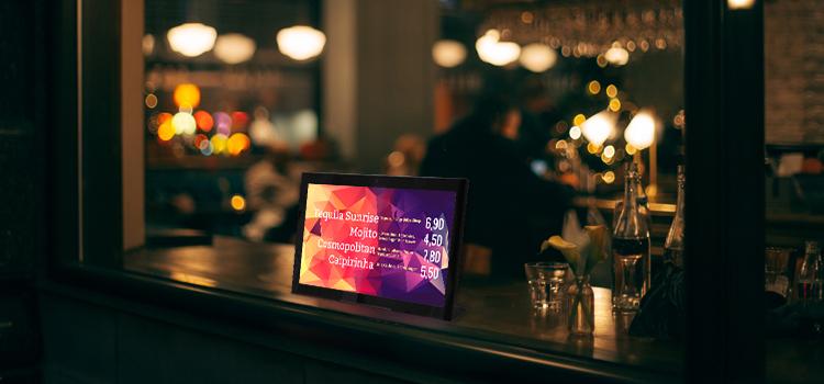 viewneo BARtab Anwendungen im Café