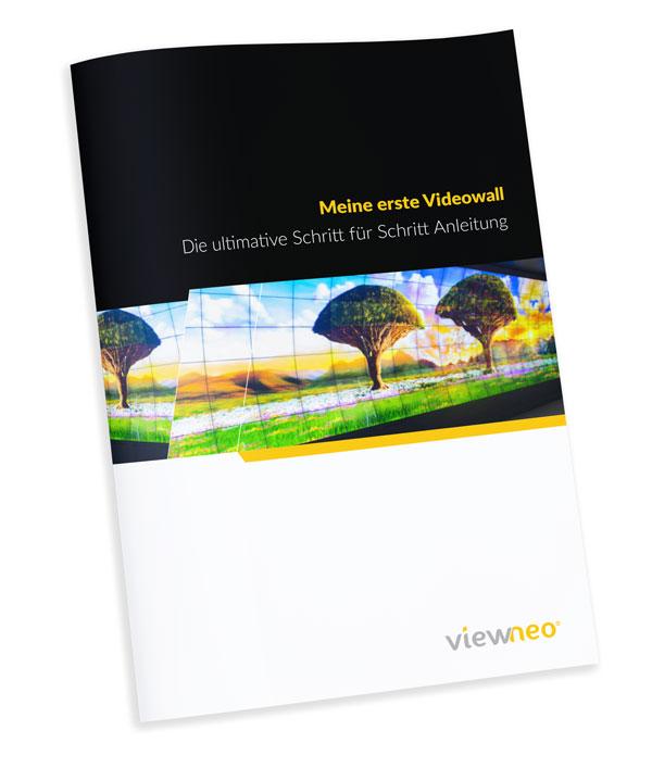 Die Schritt für Schritt Anleitung für Videowall Installationen