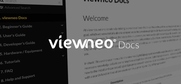 viewneo Docs: Alle Informationen an einem Ort vereint