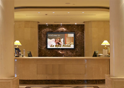 Digital Signage in hotels