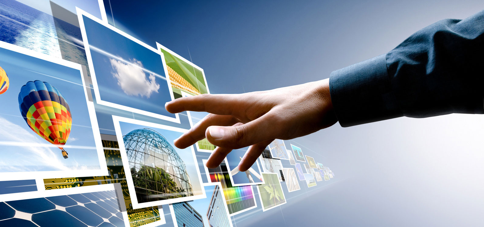 Reach out and touch digital signage
