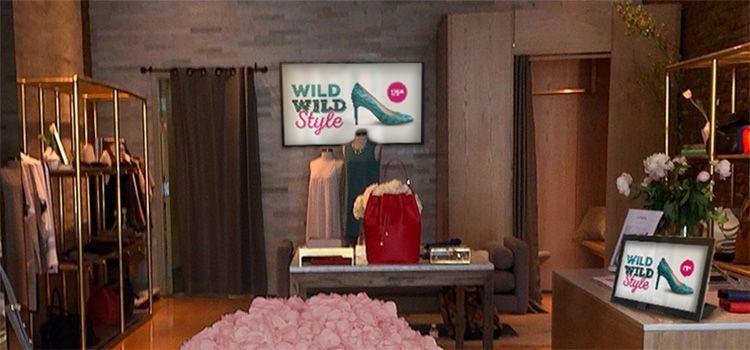 digital signage and fashion