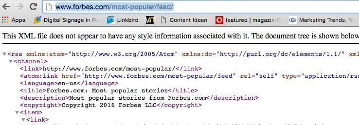 Adding RSS Feeds to Digital Signage playlist
