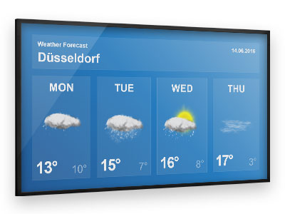 viewneo_Digital-Signage-Content_Local-Weather