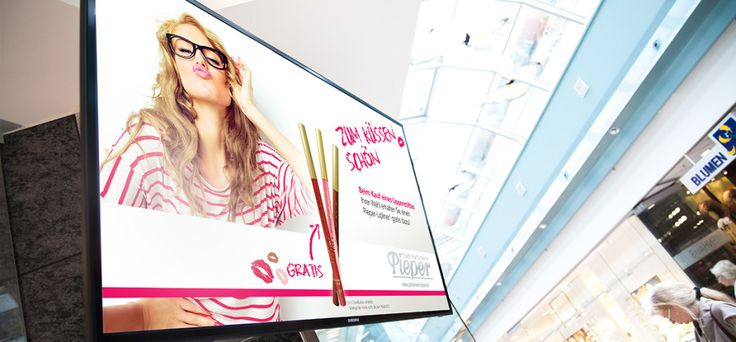 Digital Signage Mall Advertising with viewneo