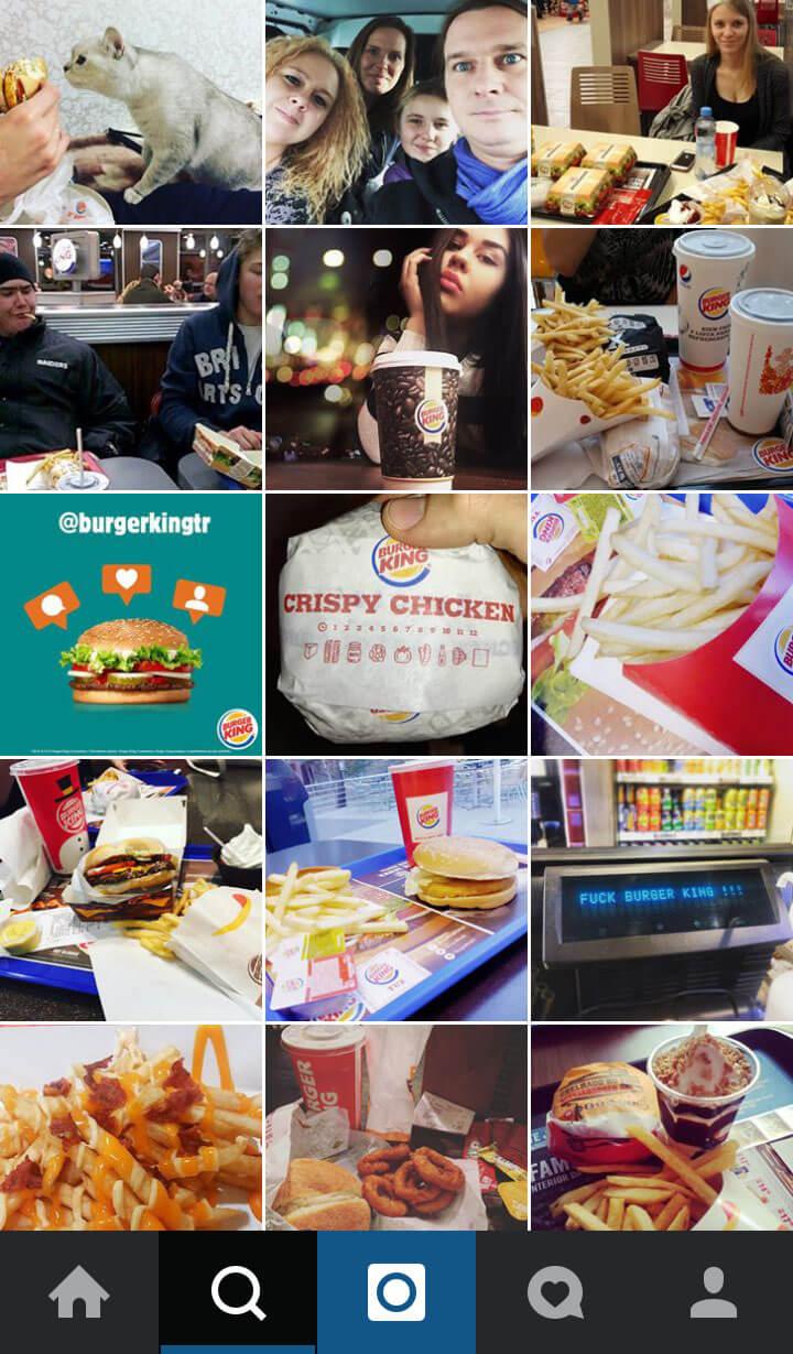 Best Practise Restaurant Marketing Burger King Screenshot
