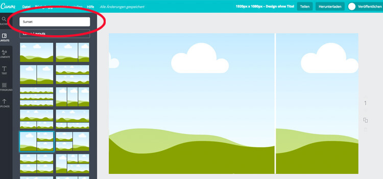 Canva Software Creating Digital Signage Content