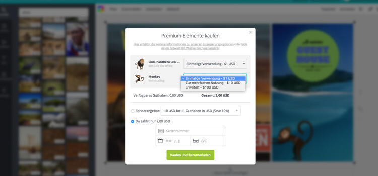 Download Your Digital Signage Content in Canva as JPG
