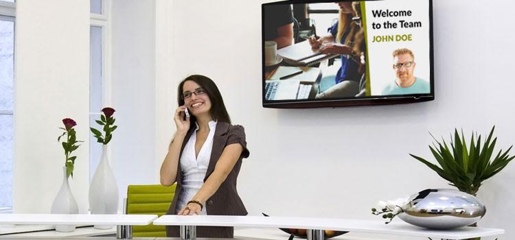 Employee motivation through Digital Signage