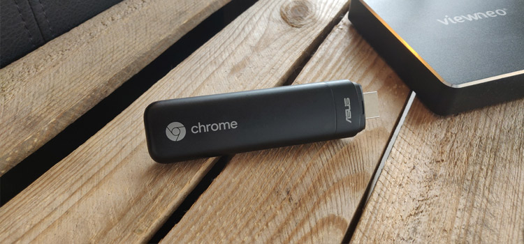 viewneo 4K Signage Box and the ASUS Chromebit